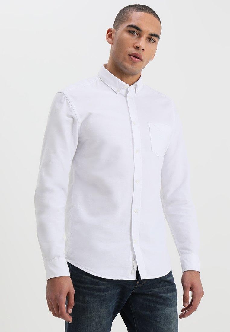 Yksinomainen Miesten vaatteet Sarja dfKJIUp97454sfGHYHD Minimum JAY Vapaa-ajan kauluspaita white