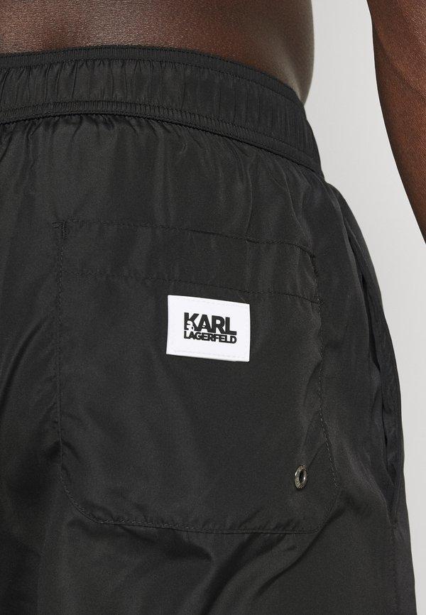 KARL LAGERFELD CLASSIC - Szorty kąpielowe - black/czarny Odzież Męska GYWT