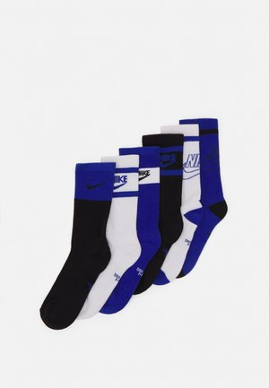 EVERYDAY CUSH CREW  6 PACK UNISEX - Calcetines - blue