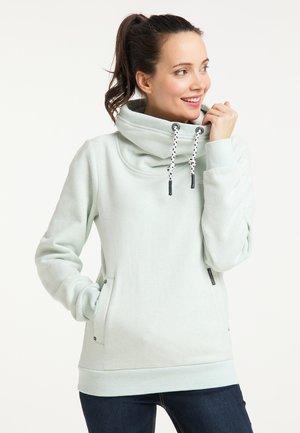 Sweatshirt - rauchmint melange