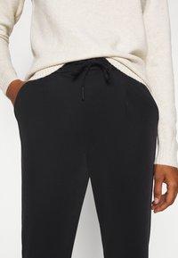 Vero Moda Tall - VMEVA LOOSE STRING SOFT PANT  - Trousers - black - 5