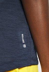 Salewa - PUEZ DRY TEE - Jednoduché triko - navy blazer melange - 6