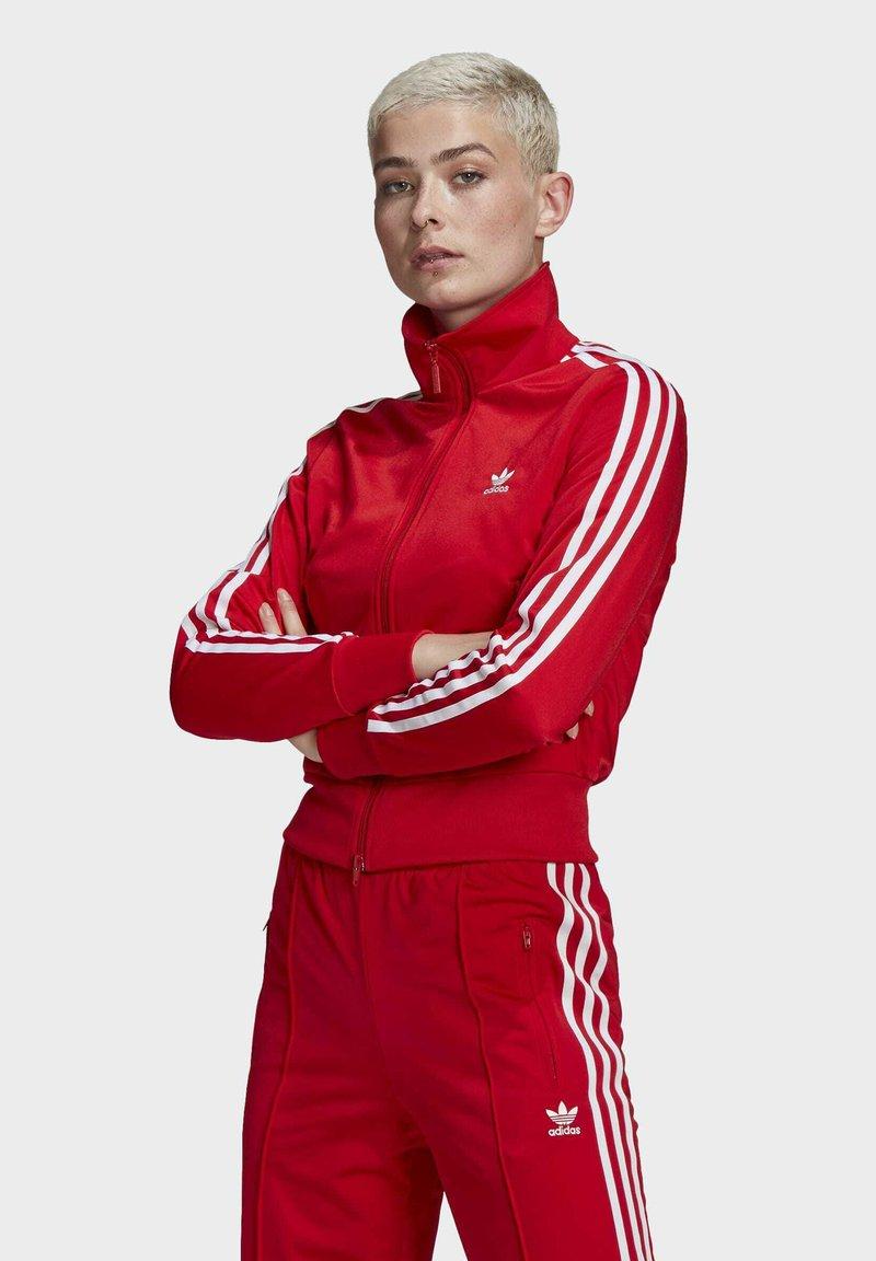 adidas Originals - FIREBIRD TTPB - Træningsjakker - scarlet
