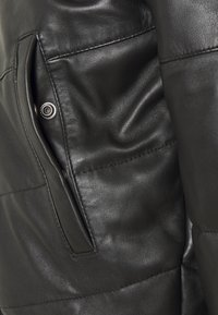 Schott - DOWN - Leather jacket - black - 3