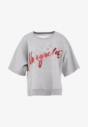 T-shirt con stampa - grey melange