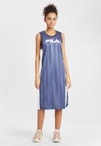Fila - Day dress - crown blue bright white - 1