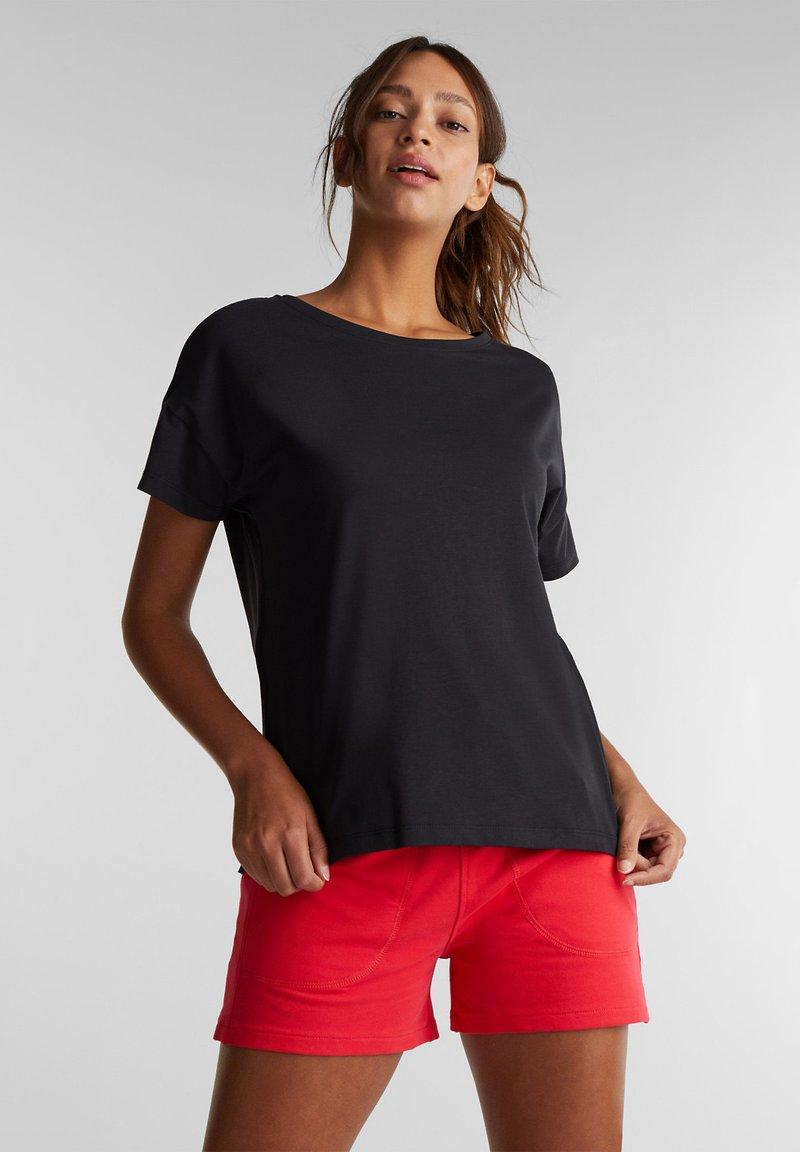 Esprit Sports - Print T-shirt - black