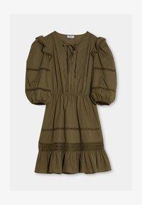 Liu Jo Jeans - Jersey dress - olive - 4