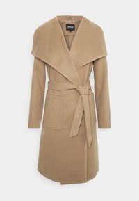 ONLY - ONLNEWPHOEBE DRAPY COAT - Classic coat - camel - 4