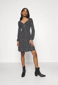 Even&Odd - Vestido ligero - black/multi-coloured - 0