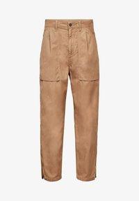 G-Star - ARCHIVE HIGH 3D - Trousers - sahara cobler - 0