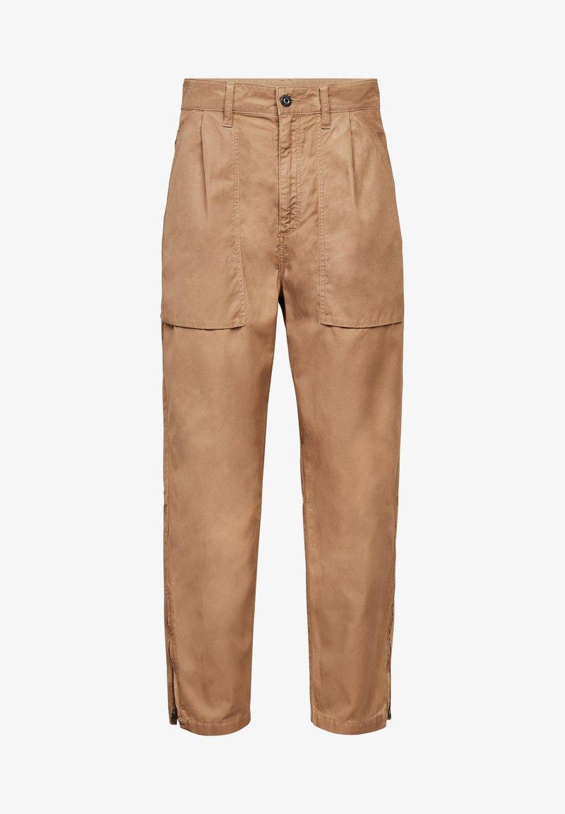 G-Star - ARCHIVE HIGH 3D - Trousers - sahara cobler
