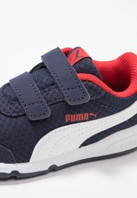Puma - STEPFLEEX 2 - Sports shoes - peacoat/white/high risk red - 2
