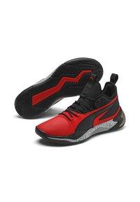Puma - Basketball shoes - high risk red-puma black - 2