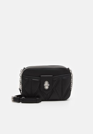 STUDIO ZIP CAMERA BAG - Across body bag - black