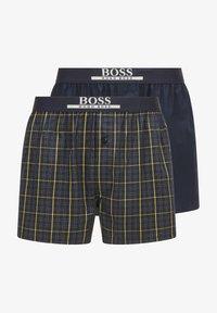 BOSS - PACK OF 2 - Pyjama bottoms - yellow/dark blue - 4