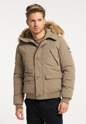 Winter jacket - grau oliv