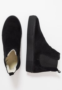 Shepherd - AMBER - Ankle boots - black - 3
