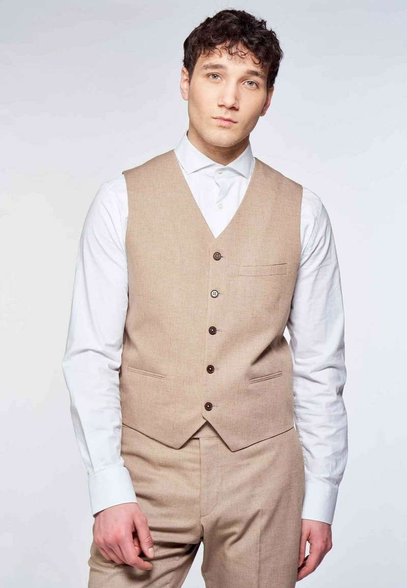MDB IMPECCABLE - Suit waistcoat - brown