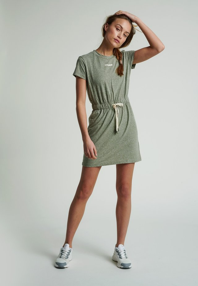 Day dress - vetiver melange