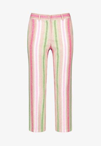 Trousers - sahara/botanical/rasberry