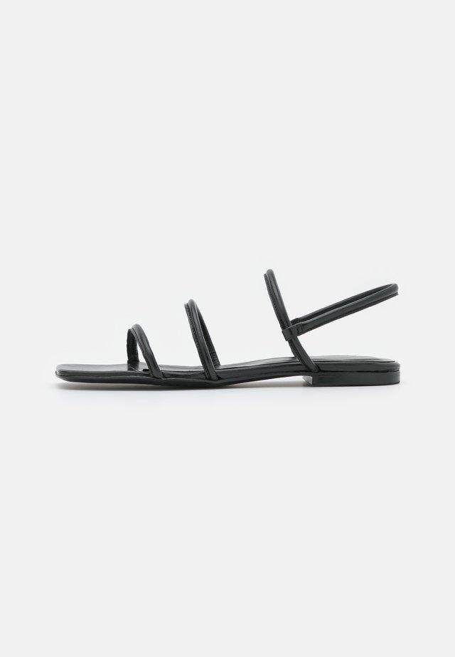 EASY  - Sandaler - black