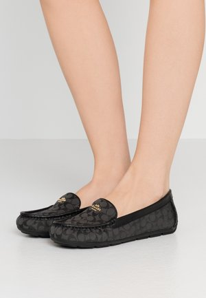 MERCY DRIVER - Moccasins - black