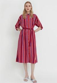 Finn Flare - Shirt dress - red - 0