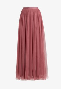 Needle & Thread - DOTTED MAXI SKIRT - Faltenrock - raspberry - 3