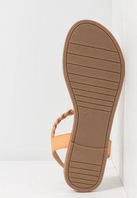 Anna Field Wide Fit - T-bar sandals - tan - 4