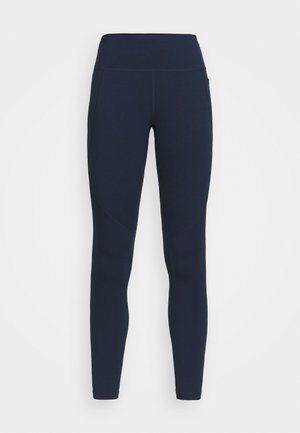POWER WORKOUT LEGGINGS - Leggings - navy blue