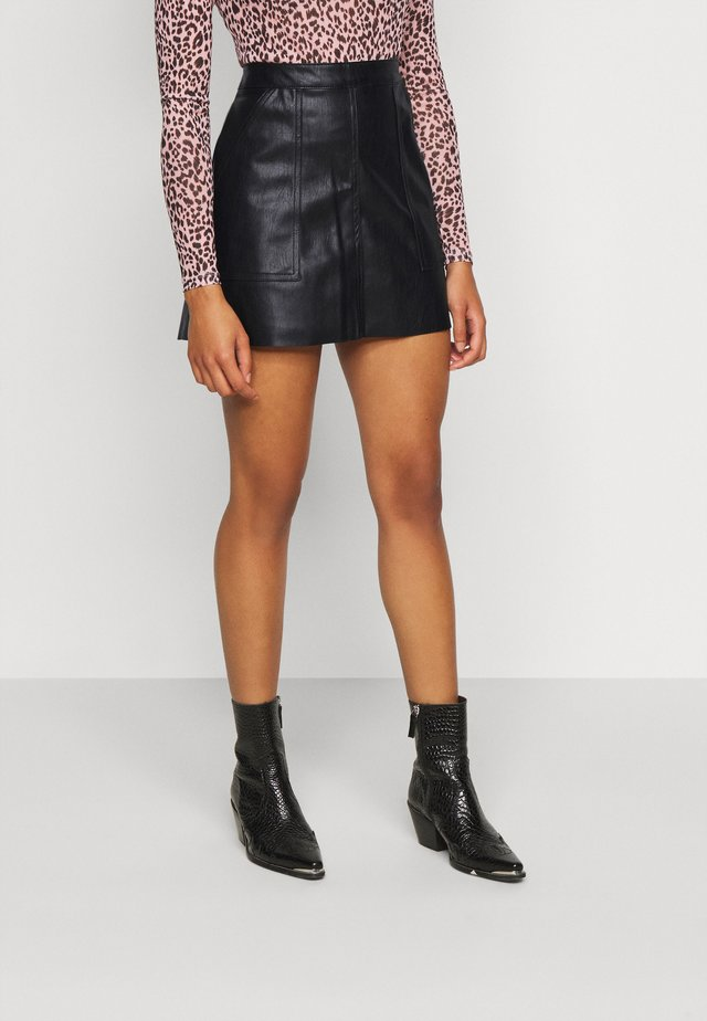 VMSYLVIA SHORT SKIRT - Minirok - black