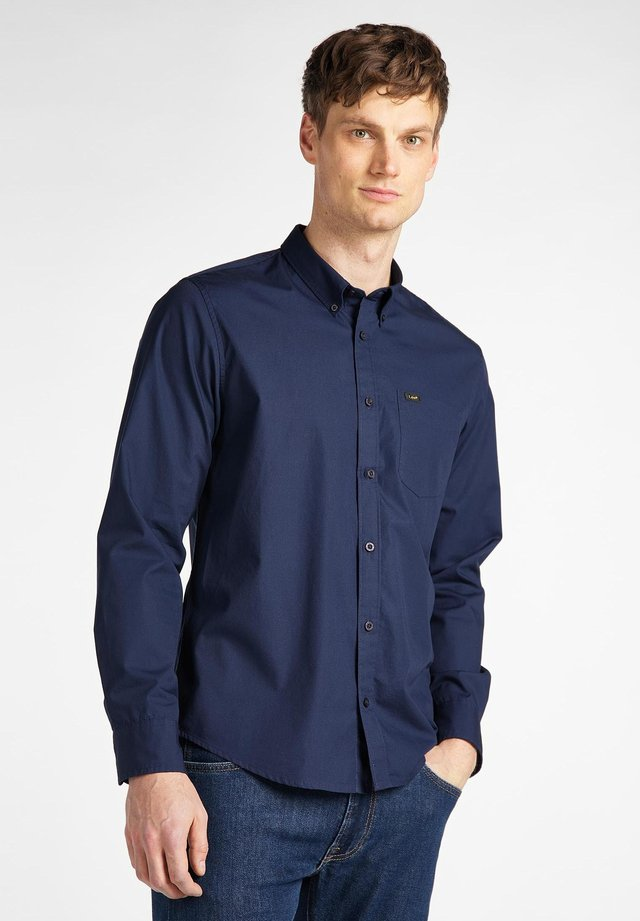 BUTTON DOWN - Chemise - navy