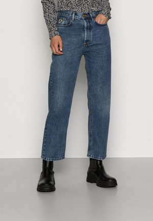 DANA - Relaxed fit jeans - mid stone