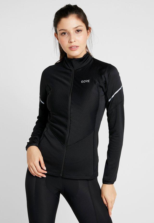 THERMO ZIP  - Sports shirt - black