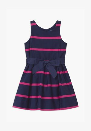 STRIPE - Cocktailkleid/festliches Kleid - french navy multi