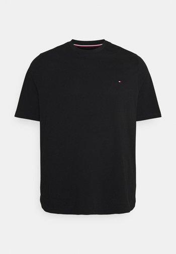 BACK LOGO TEE - T-shirt med print - black