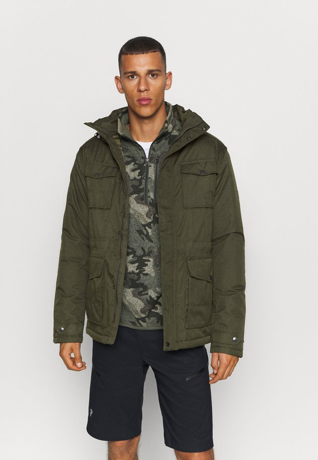 ENEKO - Outdoor jacket - dark khaki