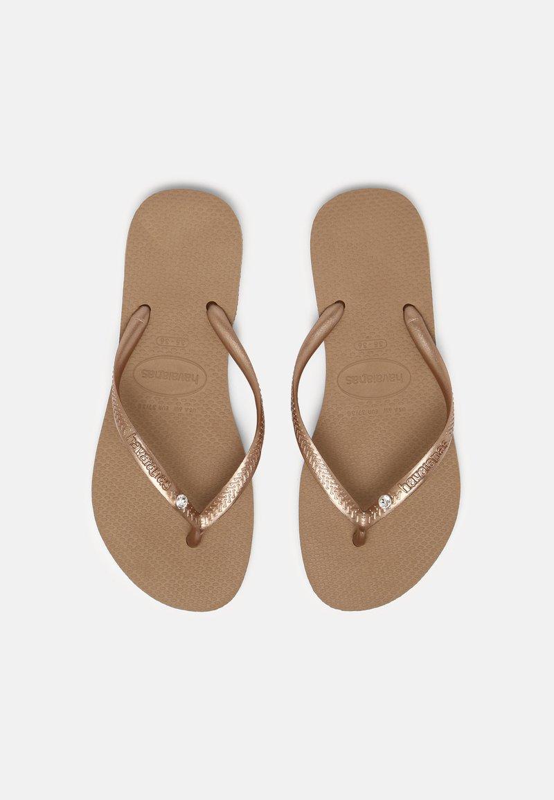 Havaianas - SLIM CRYSTAL SWAROVSKI - Pool shoes - rose gold
