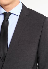 Lindbergh - PLAIN MENS SUIT - Traje - dark grey - 5