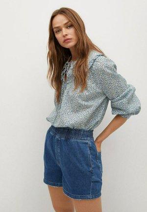 GABRIEL-I - Shorts di jeans - średni niebieski