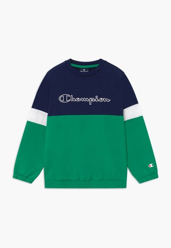 LEGACY BLOCK  CREWNECK - Sweatshirt - green/blue