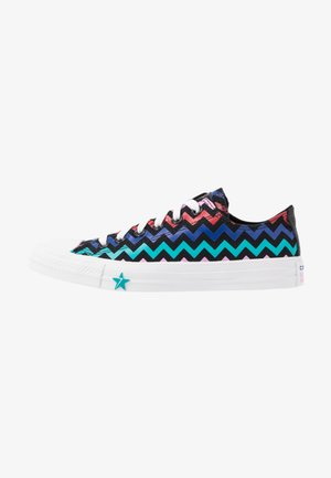 CHUCK TAYLOR ALL STAR - Sneakers laag - black/peony pink/rapid teal