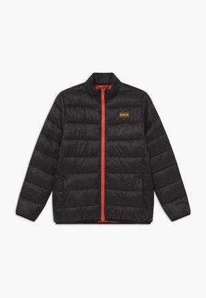 B.INTL BOYS QUILT - Winter jacket - black/orange