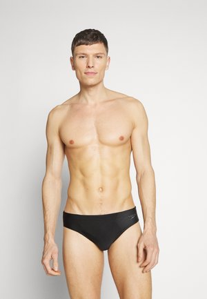 TECH LOGO - Swimming briefs - black