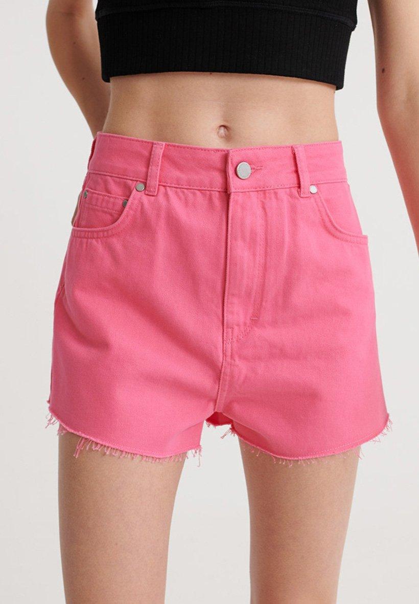 Women SUPERDRY RUBY CUT OFF SHORTS - Denim shorts