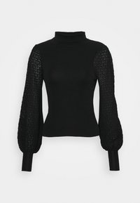 Fashion Union - HARDY - Stickad tröja - black - 4