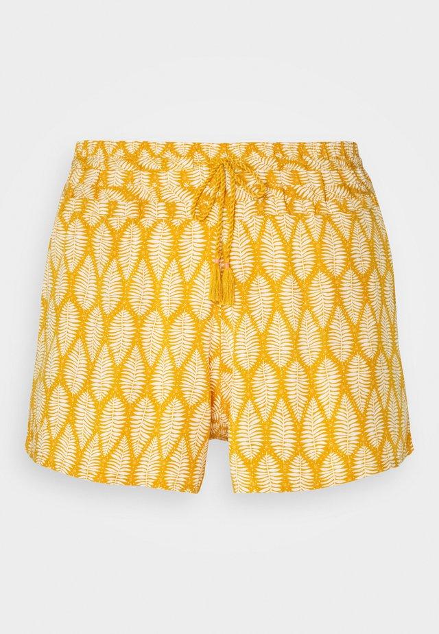 BELLA SHORT - Spodnie od piżamy - ocre