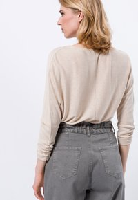 zero - Long sleeved top - cream melange - 2