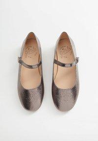 Mango - Klassischer  Ballerina - silber - 5